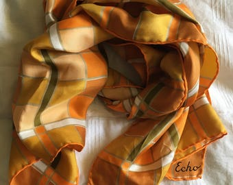 Echo Stained Glass Silk Scarf