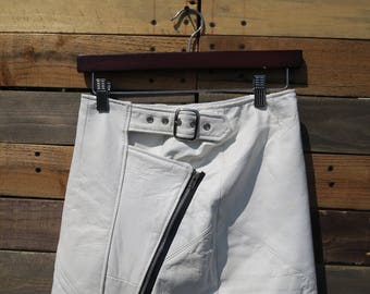 0331 - American Vintage 50s Styled Leather Skirt