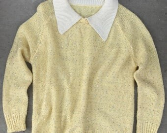 Vintage sequined sweater