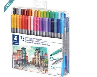 Staedtler® Duo Fiber-Tip Pens