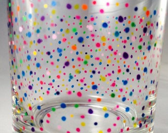 The Rainbow Confetti Tumbler Collection