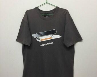 Neighborhoodskate T-Shirt/Neighborhoodskate Climbing To Maximum Tshirt/Skate Skateboard/Size L