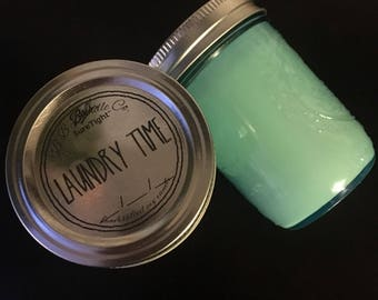 6oz Laundry Time soy candle