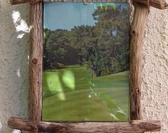 Driftwood picture frame, handmade.