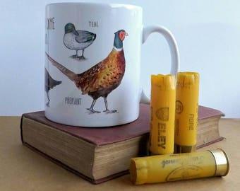 British Game Birds Mug