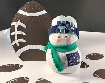 Seattle Seahawks,Snowman,Seattle Seahawks decor,Gift for Seahawks fan,Seahawks collectible,Seahawks accessory,Seahawks clothing,NFL Seahawks