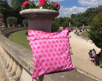 Outdoor cushion. 50 x 50 cm. Cherry Blossom patterns.