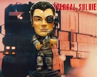 Luc Deveraux Caricature Figure - Jean Claude Van Damme Universal Soldier JCVD