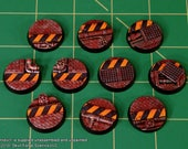 25mm INDUSTRIAL BASES (Set of 10)