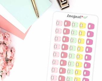 weight tracker stickers |weight planner stickers|  planner stickers |happy planner stickers |FL010