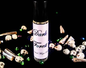 Perfume Roll on - Roll on Perfume - Vegan Perfume - Organic Perfume - Gothic Perfume - Gifts For Her - Bath and Body - Dark Forest