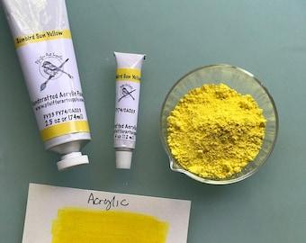 Acrylic Paint Handcrafted Matte Sunbird Sun Yellow