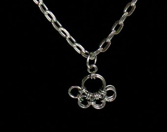 Puppy Paw Chainmaille Necklace
