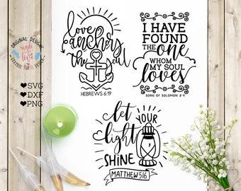 Mini bible verse, Scripture Bundle, Cutting Files svg, Scripture Bundle, Bible Cut Files, Bible SVG, Scripture SVG, psalms svg Christian SVG