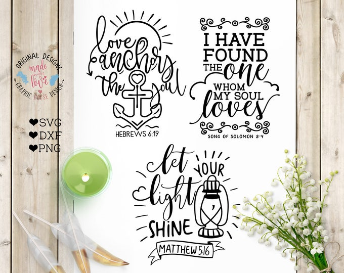 Mini bible verse, Scripture Bundle, Cutting Files svg, Scripture Bundle, Bible Cut Files, Bible SVG, Scripture SVG, psalms svg Christian SVG