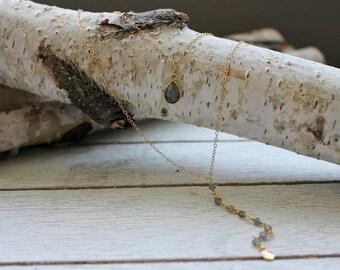 Labradorite Double Layer Necklace