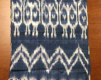 Scarf - Guatemalan 100% Cotton, Hand Spun, Hand Dyed & Hand Woven