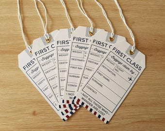 6x Travel Themed Tags