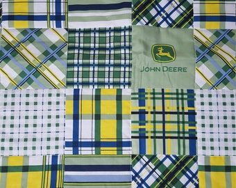 Country Quilt with Tractors 096DD