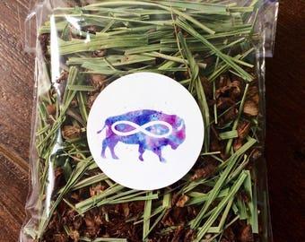Wild Dandelion Root and Organic Lemongrass Tea // Native American Métis Dandelion Herbal Tea // Roasted Dandelion and Organic Lemon Grass Te