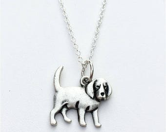 Beagle Charm Necklace
