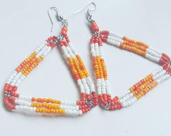 Beach Sunset earrings