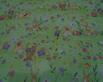 Reversible Placemats,Set of 4 Placemats,Placemats,Bunny Placemats,Easter Egg Placemats,Green Placemats,Table Mats,Easter Mats,Pink Easter