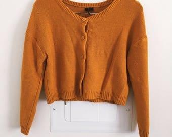 1960s Orange Cardigan