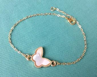 Bracelet Vancleef style