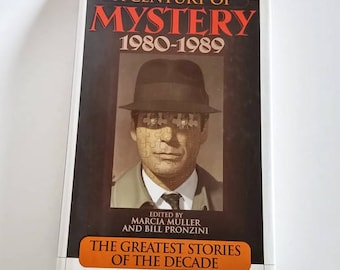 A Century of Mystery 1980-1989  Hardcover 1st Edition  Mystery