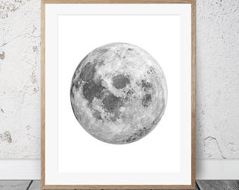 Moon Wall Art moon wall art | etsy