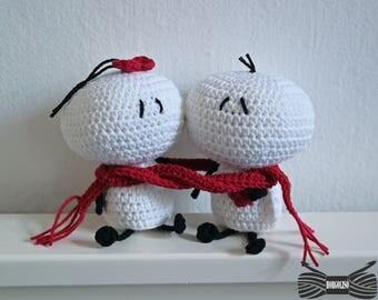 Crochet Bigli migli doll couple
