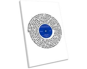 Ocean Colour Scene Robin Hood Song Lyrics Vinyl CANVAS WALL ART Picture Print