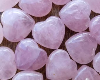 Rose Quartz Heart, Puffy Heart, Crystals, Natural Stone, Meditation, Reiki, Balance All Chakras, Love, Passion, Desire, Relationship, Calm
