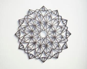 Wooden Mandala / 30 cm / home decor / Created for Creativity / made of wood