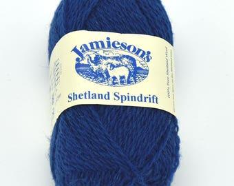 Knitting Wool - Destash Yarn - Blue Yarn - Shetland Wool - Yarn for Sale - Wool Yarn - Fair Isle - Shetland - Shetland Yarn - Knitting Yarn