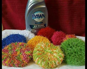 Handmade Dish Scrubbies