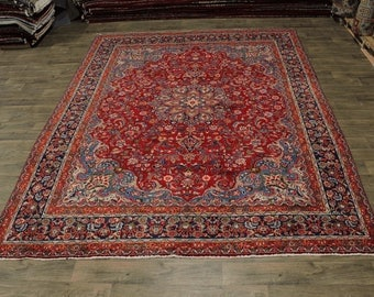 Lovely S Antique Traditional Sabzevar Persian Area Rug Oriental Carpet 10X13