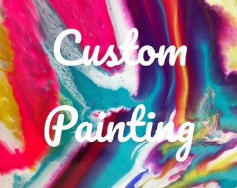24 x 36in Custom Painting by AlanaKay
