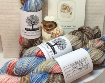 Mrs Tiggy Winkle on DK with silver stellina