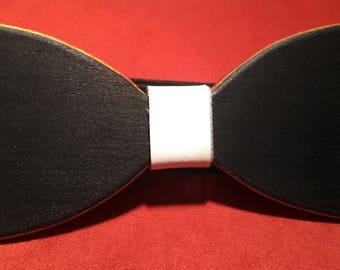 Wooden bow tie Toulipier multicolor Mod. Classic Layers (unisex)