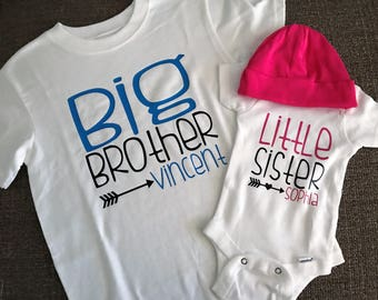 Big Brother, Little Sister Shirts