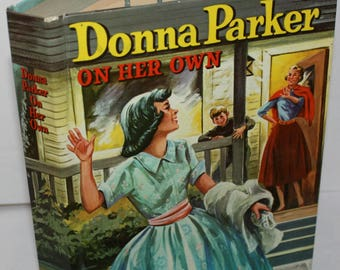 Donna Parker On Her Own Whitman Hardcover Book 1957