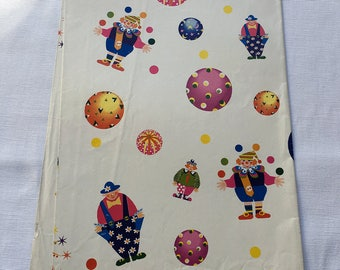 Vintage | Clown | Wrapping Paper