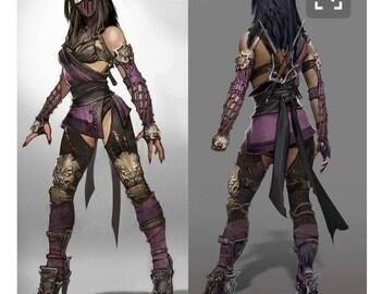 Kitana cosplay from Mo...