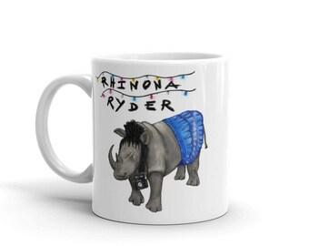 Rhinona Ryder (Winona Ryder) Stranger Things, Beetlejuice, Heathers mash-up Mug