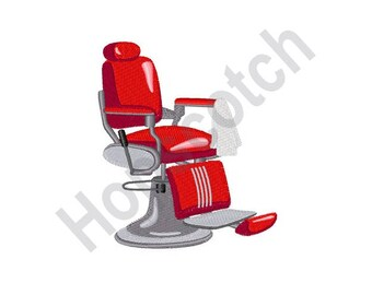 Barber Chair - Machine Embroidery Design