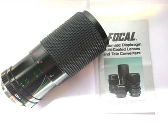 Focal 80-200 mm F4.5 Lens in Original box
