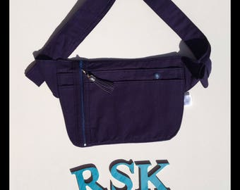 Nurses carry all, Hip Carry bag, Bum bag, Festival Belt, Utility Belt, Hip bag,Nurse bag, nurses pouch, navy blue