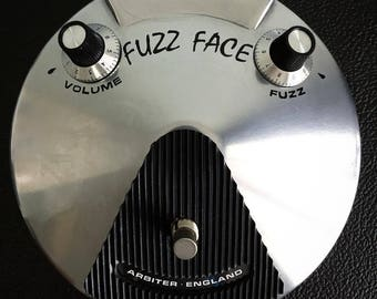 60's Sonus FUZZ FACE FUZZFACE Pedal Restoration Decals Black or White